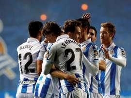 La Real recibe al Valladolid en su mejor momento. EFE