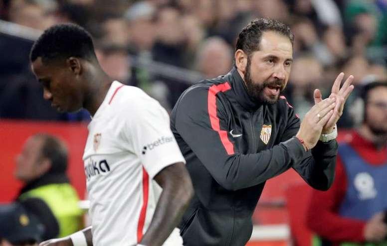 El Sevilla pasa página de la Copa. EFE