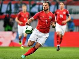 El austriaco sufre una lesión en el muslo. EFE/Archivo