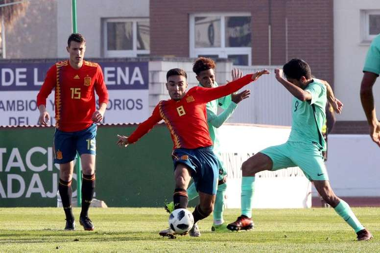 España le dio la vuelta al marcador. EFE