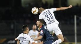 Carlos González hizo el gol de Pumas. EFE/Archivo