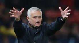 Mourinho habló sobre su futuro. EFE/Archivo