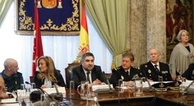Rodríguez Uribes habló sobre la Supercopa y el fútbol femenino. EFE