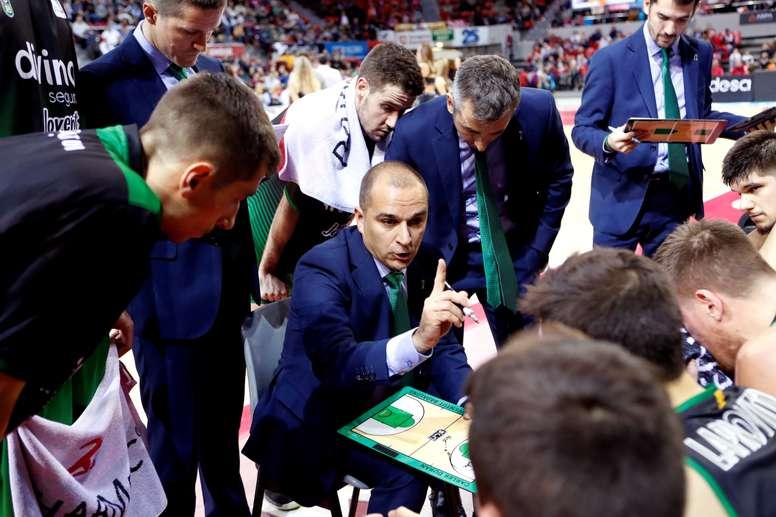 El entrenador del Joventut, Carles Duran. EFE/Archivo