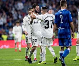 Real Madrid are five points off Barcelona. EFE