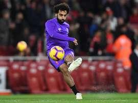 Salah presenteou Milner como 'MVP'. EFE/EPA/Archivo