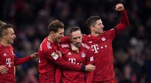 El Bayern, a lo suyo y sin suerte. EFE