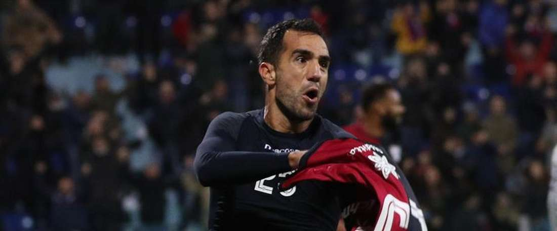 Increíble empate del Cagliari. EFE