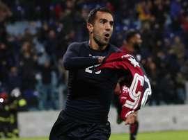Marco Sau quitte Cagliari. EFE