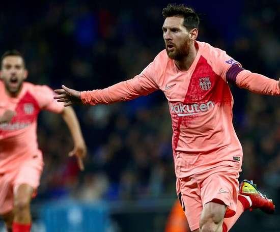 Messi, leader de l'attaque de la semaine. EFE