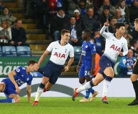El Tottenham salvó el compromiso sin apuros. EFE
