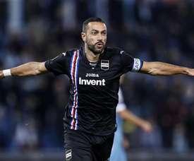 La Sampdoria se llevó un punto en el 99'. EFE