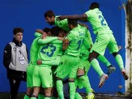 El Levante empató en Ipurua ante el Eibar. EFE