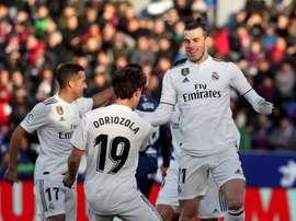 Madrid a tout juste gagné. EFE