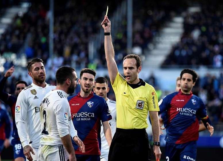 Madrid y Huesca volverán a verse las caras, dos años después. EFE/Archivo
