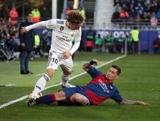 El Madrid no dejaba de encajar fuera desde marzo. EFE