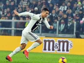 Cristiano vivra le quatrième grand derby de sa carrière. AFp