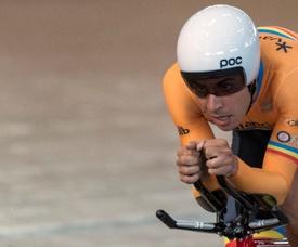 El ciclista Sebastián Mora. EFE/Archivo
