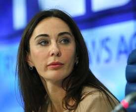 Margarita Pakhnotskaya, encargada de supervisar las relaciones entre la Agencia Rusa Antidopaje (RUSADA) y la Agencia Mundial Antidopaje (AMA). EFE/Archivo