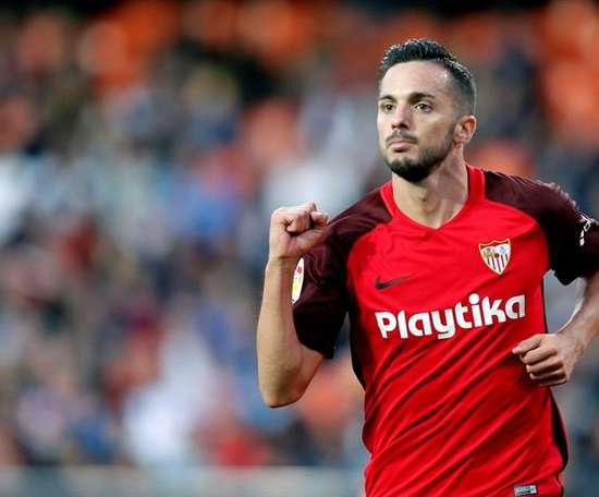 El Sevilla no debe fallar en la última jornada. EFE
