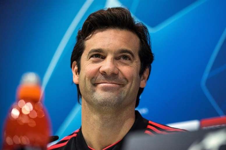 Solari will be looking to round off the Group Stage with a win. EFE