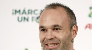 Iniesta évoque son adaptation au Japon. EFE