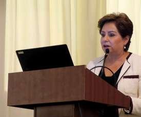 La secretaria de la Convención Marco de las Naciones Unidas sobre Cambio Climático (CMNUCC), Patricia Espinosa. EFE/Archivo