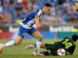 Mario Hermoso, dans le viseur de Guardiola. EFE