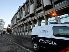 Máxima alerta en el Bernabéu. EFE
