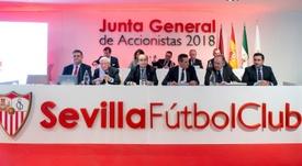 Un fondo de inversión chino, cerca de comprar el Sevilla. EFE