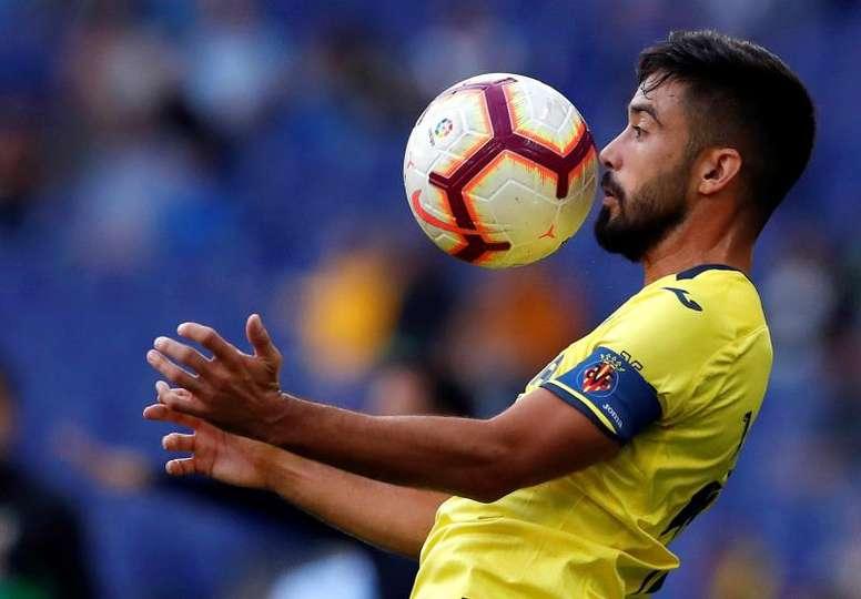 Sanción para el jugador del Villarreal. EFE/Archivo