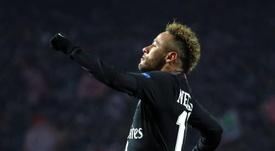 Neymar, le Brésilien au plus grand nombre de buts. EFE