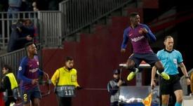 El Barça espera que el francés haga olvidar la lesión de Suárez. EFE