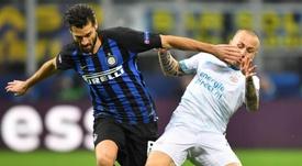 L'Inter veut prolonger Candreva jusqu'en 2022. EFE