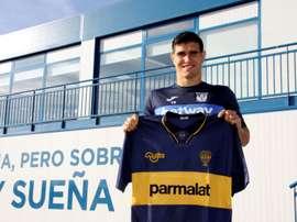 Ezequiel Muñoz repasó la actualidad del Leganés. EFE