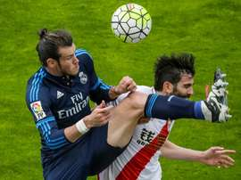 El Rayo es la víctima favorita de Bale. EFE