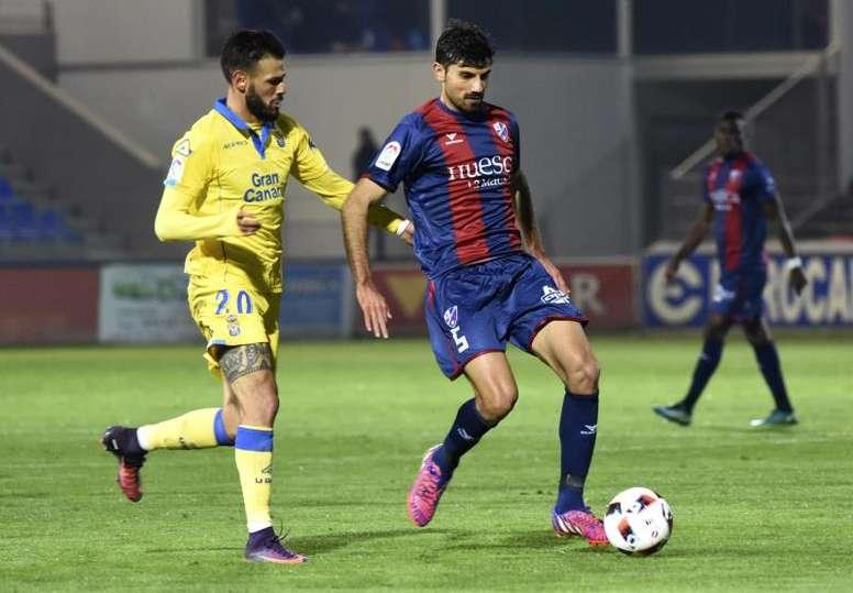 Juan Aguilera jugará la próxima temporada en Segunda División. EFE