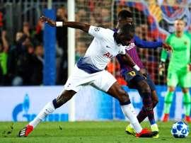 Sissoko n'envisage pas de quitter Tottenham. EFE