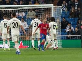 Madrid a perdu 0-3 contre le CSKA. EFE