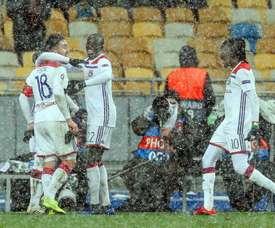 El Shakhtar Donetsk-Olympique de Lyon fue precioso. EFE