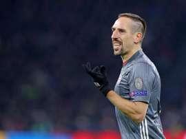 Franck Ribéry promet encore pas mal de buts. EFE