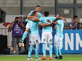 Sporting Cristal se impuso con rotundidad. EFE