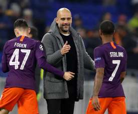 Giardiola le quitó el puesto a Zidane. EFE/Archivo