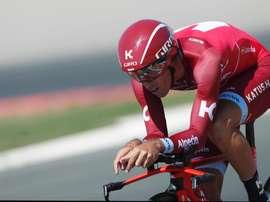 El ciclista español Alberto Losada. EFE/Archivo