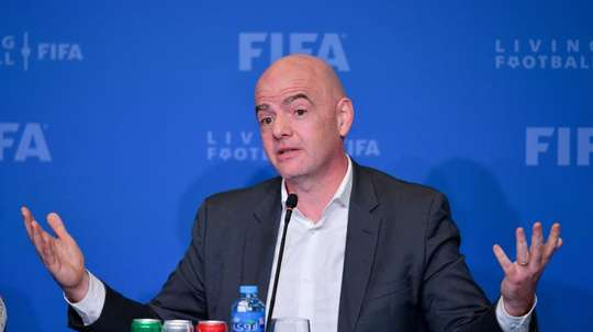Gianni Infantino has announced support for an expanded World Cup . EFE