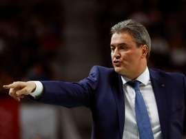 El entrenador del Delteco GBC, Sergio Valdeolmillos. EFE/Archivo