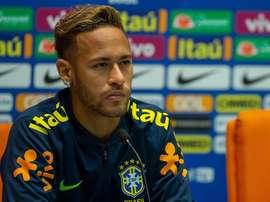 Neymar sigue con Rusia en la cabeza. EFE