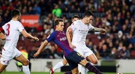 Denis Suarez pourrait rejoindre Arsenal. EFE