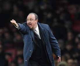 Benítez, el entrenador del mes de noviembre. EFE