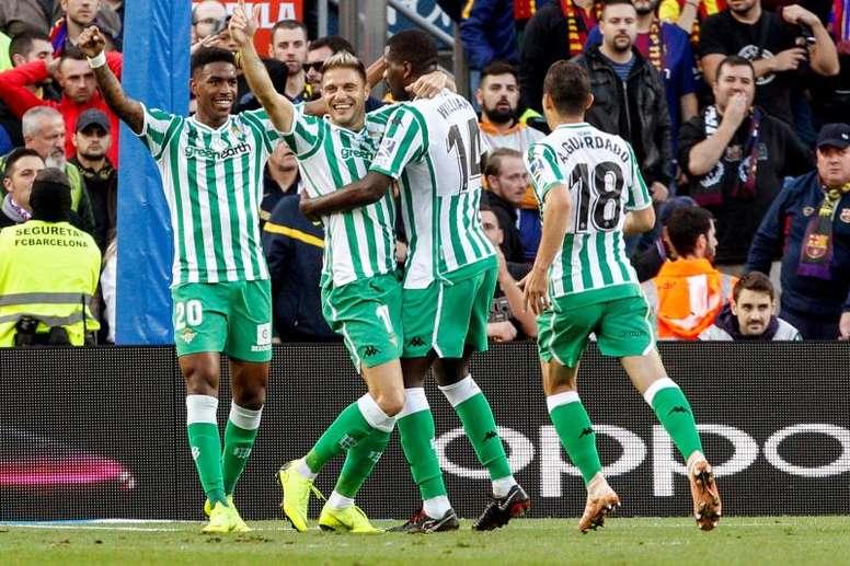 Todos los fichajes y rumores del Real Betis. EFE